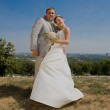 Groom and bride — Stock Photo #4708581