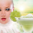 Margaritas with lime — Stock Photo #4708821