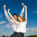 Happy smiling couple — Stock Photo #4708912
