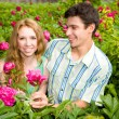 Young love Couple smiling — Stock Photo #4708926