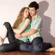 Young love Couple smiling — Stock Photo #4708932