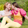 Mom and Daughter Having Fun — Stock Photo #4710553
