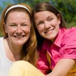 Mom and Daughter Having Fun — Stock Photo #4710554