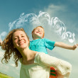 Mother and Son Having Fun — Stock Photo #4710901