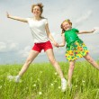 Stock Photo: Mom and Daughter Having Fun