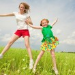 Foto de Stock  : Mom and Daughter Having Fun