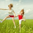 Mom and Daughter Having Fun — Stock Photo #4711071