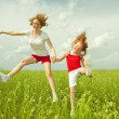 Mom and Daughter Having Fun — Stock Photo #4711072