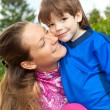 Mother and Son Having Fun — Stock Photo #4711442