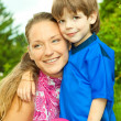 Mother and Son Having Fun — Stock Photo #4711447
