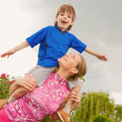 Mother and Son Having Fun — Stock Photo #4711457