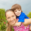 Mother and Son Having Fun — Stock Photo #4711472