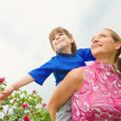 Mother and Son Having Fun — Stock Photo #4711473