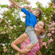 Mother and Son Having Fun — Stock Photo #4711478