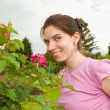 Happy young woman — Stock Photo