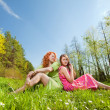 Mom and Daughter Having Fun — Stock Photo #4713053