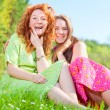 Mom and Daughter Having Fun — Stock Photo #4713077