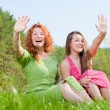 Mom and Daughter Having Fun — Stock Photo #4713082