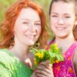 Mom and Daughter Having Fun — Stock Photo #4713099