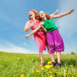 Mom and Daughter Having Fun — Stock Photo #4713189