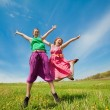 Mom and Daughter Having Fun — Stock Photo #4713194