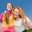 Mom and Daughter Having Fun — Stock Photo