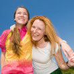 Mom and Daughter Having Fun — Stock Photo