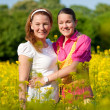Mom and Daughter Having Fun — Stock Photo #4713231