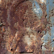 Rusty metal surface texture close up photo - Stock Photo