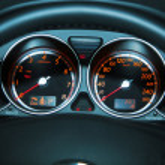 Car Dashboard — Stock Photo