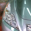 Headlight close-up - Stock Photo