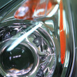 Headlight close-up — Stock Photo