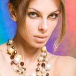 Beautiful young woman — Stock Photo #4713810
