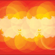 Orange business background. — Stock Vector #2712551