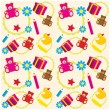 Royalty-Free Stock Vector Image: Children toys