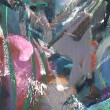 Stock Photo: Abstract fragment of painting