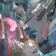 Abstract fragment of painting — Stock Photo
