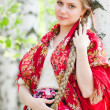 Russian beauty — Foto Stock
