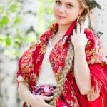 bellezza russa — Foto Stock