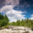 Stock Photo: River in Karelia
