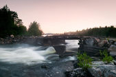 River and bridge — Stock Photo