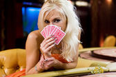 Women in casino 4 — Stock Photo