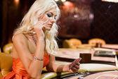 Women in casino 6 — Stock Photo