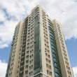 Stock Photo: High-rise residential building