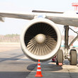 Plane engine — Foto Stock