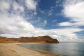 Strand aan de Japanse zee. — Stockfoto