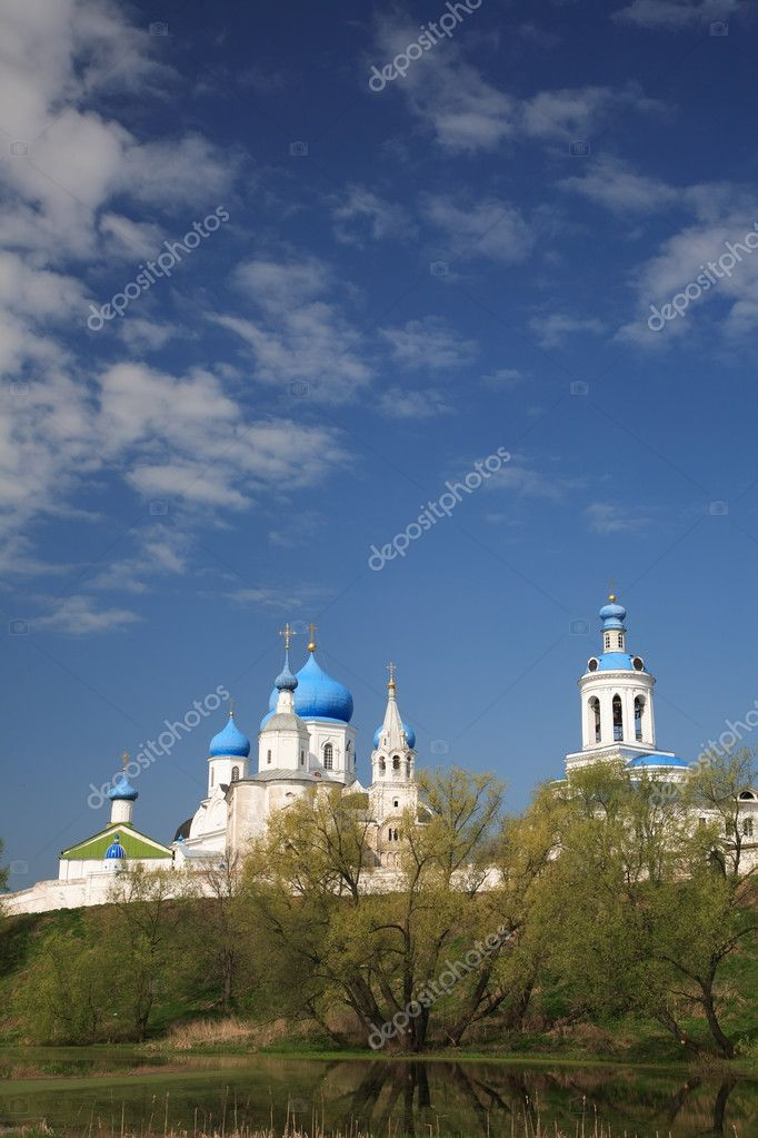 Russia. Bogolubovo. The Piously-Bogoljubsky monastery — Stock Photo #3317364