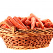 Stock Photo: Carrot crop