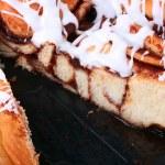 Pie with cinnamon — Stock Photo #2835629