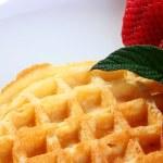 Wafers strawberry — Stock Photo #2922230